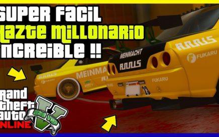 "APURATE!! EL TRUCO MAS FACIL DE ""GTA V ONLINE"" 1.42 DINERO INFINITO"