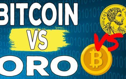 Bitcoin vs Oro ¿Qué inversión es mejor para ti?