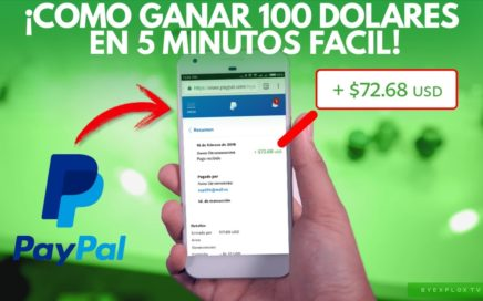 ¡Como Ganar 100 Dólares Fácil En 5 Minutos!| Mediante PayPal| Página De Apuestas Abrircaja.com