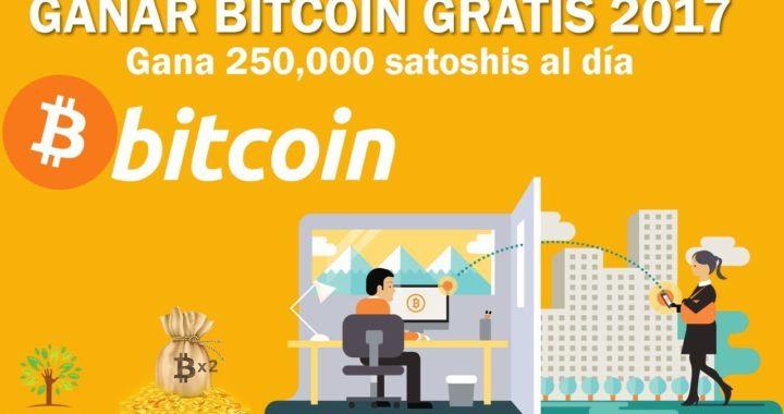 COMO GANAR BITCOIN GRATIS 2018 | La Mejor Página Para Conseguir 250,000 Satoshis al Día