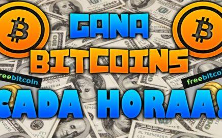 COMO GANAR BITCOINS MUY FACIL CADA HORA + COMPROBANTE DE PAGO + ESTRATEGIA 2018