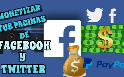 como ganar dinero con facebook / monetizar fan page con Socialek