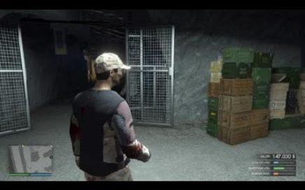Como ganar dinero con misiones tráfico de armas GTA Online