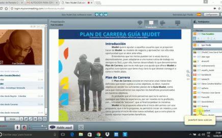 Cómo ganar dinero con Mudet Nuevo Plan de Carrera 14 Junio 2017 (Fran Escudero)