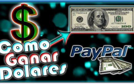 Como Ganar Dolares Por Internet | De La Forma Mas Sencilla | Gana Dolares Con 2 Click Literalmente |