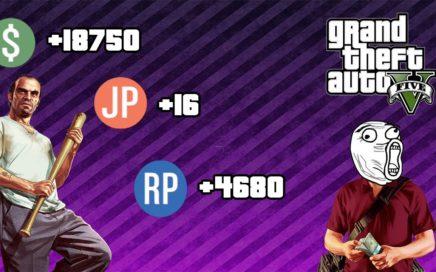 COMO TENER DINERO RÁPIDO Y RP EN GTA 5 1.10 // 100% LEGAL!