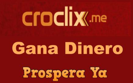 Croclix | Que es, Como Funciona, Gana Dinero  Viendo Anuncios, Registro | Ptc Pagando desde 2013