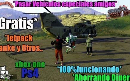 *Duplicar Autos facil Y Rapido* jetpack  Dinero Infinito 100% Funcionando Gta5 Online xbox One PS4