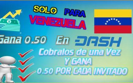 Gana de 1 dólar a 5 diario en Venezuela