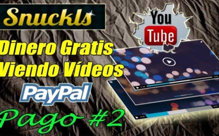Gana Dinero a Paypal Viendo Vídeos de Youtube, Nuevo Pago de Snuckls | Gokustian