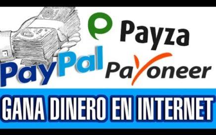 GANA DINERO PARA PAYPAL, PAYZA Y PAYONEER GRATIS  2017 // 2captcha.com