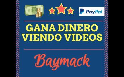 GANA DINERO PAYPAL PARA PRINCIPIANTES - BAYMACK
