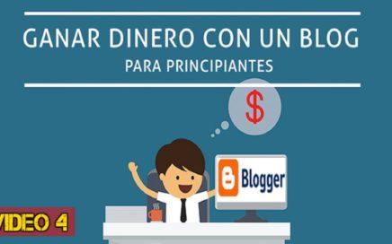 GANAR DINERO CON UN BLOG   VIDEO 4: Editar Secciones del Blog