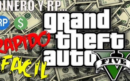 GANAR DINERO FACIL Y RAPIDO, NO HACKS, NO BANEOS, TODO LEGAL - GTA V Online