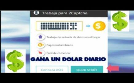 Ganar dinero haciendo captchas 1 dolar $ diario l Solución al baneo de IP