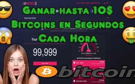 Ganar hasta 10$ Bitcoins en Segundos Cada Hora | Cointiply Registro y Explicacion Completa