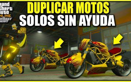 GTA 5 Online TRUCO DINERO INFINITO SOLO SIN AYUDA FUNCIONANDO! DUPLICAR MOTOS CON ESTE METODO FACIL!