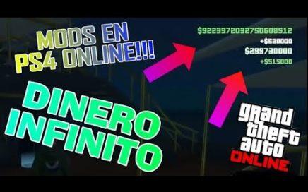 Hack/mod DINERO INFINITO Gta 5 Online!!! (ps4)