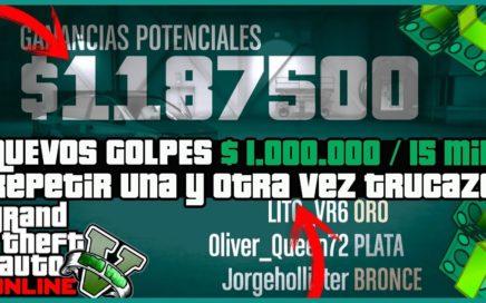 """INCREIBLE TRUCAZO!! COMO HACER TODOS LOS GOLPES INFINITOS """"GTA 5 ONLINE"""" [ PS4 - XBOX ONE - PC ]"""