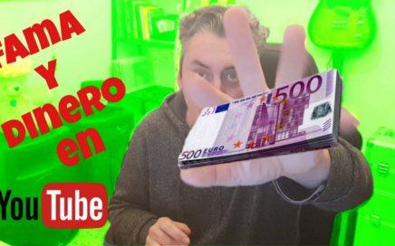 Mi experiencia para ganar dinero con youtube