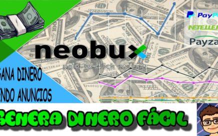 Neobux tutorial completo ganar dinero online | Genera Dinero Facil