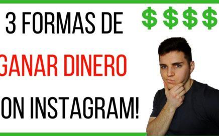 No sabes como GANAR DINERO por instagram? (haz esto) Y podrás monetizar tu cuenta!