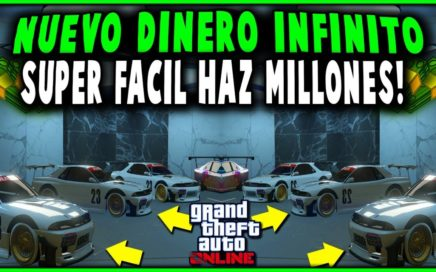 NUEVO! Metodo Para Conseguir Dinero En GTA 5 Online! DUPLICAR AUTOS DE LUJO (PS4 XBOX ONE Y PC)