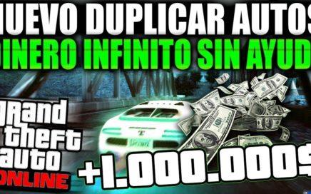 """""""NUEVO TRUCO DINERO INFINITO SIN AYUDA"""" GTA 5 ONLINE 1.42 DUPLICAR AUTOS SIN AYUDA (PS4 Y XBOX)"""