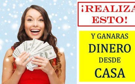 REALIZA ESTO Y GANARAS DINERO DESDE CASA #GenerarEXITO