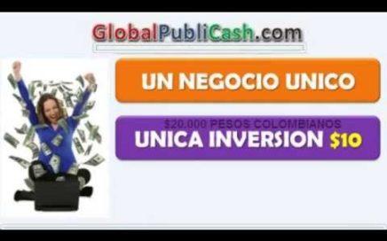 recetas para Ganar Dinero, INGRESOS AUTOMÁTICOS. Global PubliCash