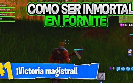 SER INMORTAL EN FORTNITE!!! GLITCH METERSE DEBAJO DEL MAPA Y GANAR TODAS LA PARTIDAS EN FORTNITE!!