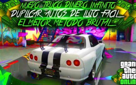 SOLO SIN AYUDA!NUEVO TRUCO GTA 5 ONLINE 1.42 CON MATRICULAS LIMPIAS SUPER FACIL!PS4 XBOX ONE