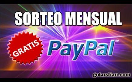 Sorteo Mensual de Gokustian | Dinero Gratis a tu Cuenta de Paypal