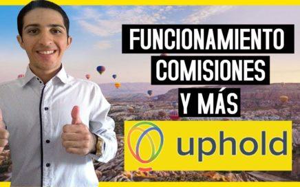 Uphold - Funcionamiento Completo, Comisiones y Más [Multibilletera] BTC, Ethereum,Litecoin, Dash 2/2