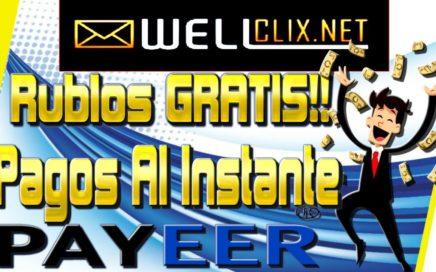 Wellclix Gana Rublos Gratis Fácil y Rápido Pagos Al Instante [ Como Ganar Dinero Por Internet ]