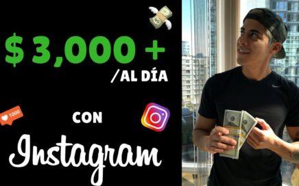 $25,000 Dólares En 1 Semana Con Instagram | Como Ganar Dinero En Instagram