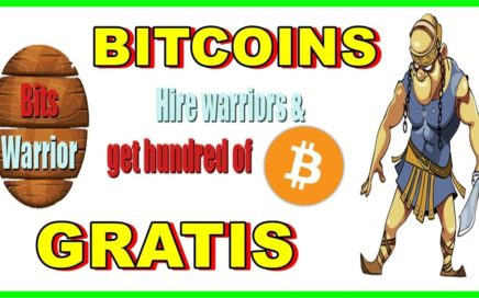 BITSWARRIOR | 1,000,000 SATOSHIS GRATIS !! RECIBE 1 GUERRERO Y 1500 MONEDAS GRATIS POR REGISTRARTE.