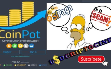 CoinPot scam??? o si paga??? Cryptocurrency microwallet GANA DINERO ONLINE