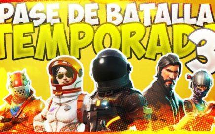 COMO CONSEGUIR *NUEVAS SKINS GRATIS* del NUEVO PASE DE TEMPORADA 3 | Fortnite: Battle Royale