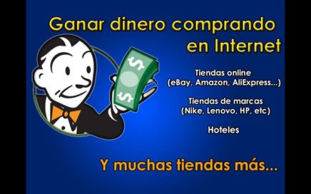 Cómo ganar dinero comprando en Internet con eBates