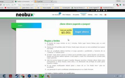 Como  ganar dinero en neobux + estrategia de 50 dolares