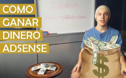 Como Ganar Dinero Por Internet Con AdSense