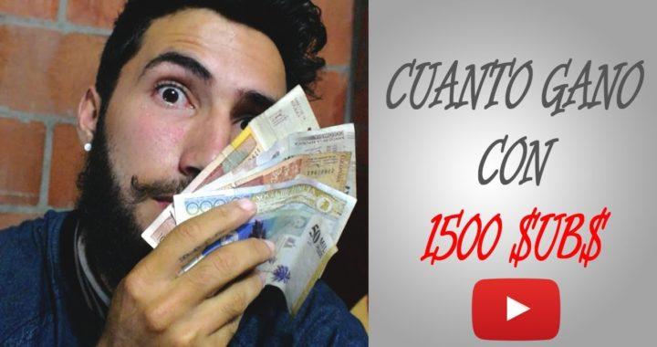 ¿Cuánto dinero gano en Youtube? ¿Cuánto se gana en youtube / cómo ganar dinero en youtube? COLOMBIA