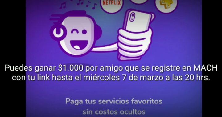 DINERO GRATIS | Gana dinero fácil con MACH | Plata Gratis Chile