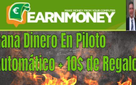 Earn Money Network | Que es, Como Funciona, Gana Dinero en Automático  y Recibe 10$ Gratis. Minado