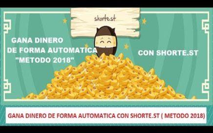 GANA DINERO CON SHORTE.ST (AUTOMATICO)(METODO MARZO 2018)