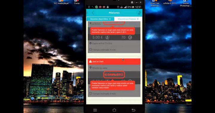 ganar dinero con android clic and walk ,funciona al 100%