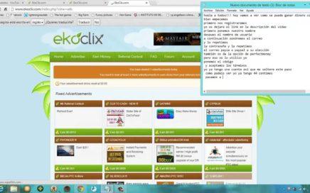 Ganar dinero con Ekoclix