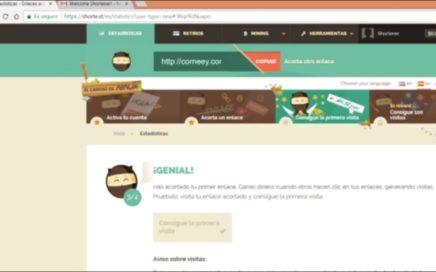 Ganar dinero en internet con acortadores de enlaces