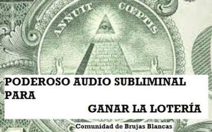 Ganar Loteria Ganar Dinero Tener Buena Suerte - Subliminal